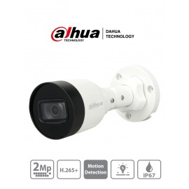 Camara IP Bullet 2 MP/ H.265+/ 20 Fps/ Lente de 2.8mm/ Angulo de 104/ IR DE 30 Mts/ IP67/ PoE/